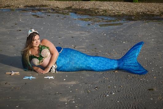 Mermaid Kerenza Sapphire by Jo Jackson Photography